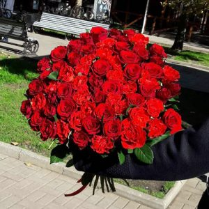 51 червона троянда Вінниця