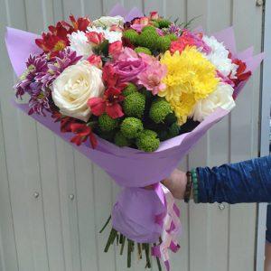 Букет На душі весна - відмінний спосіб відправити дорогій людині трохи теплоти будучи в розлуці