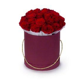 капелюшна коробочка 21 троянда фото