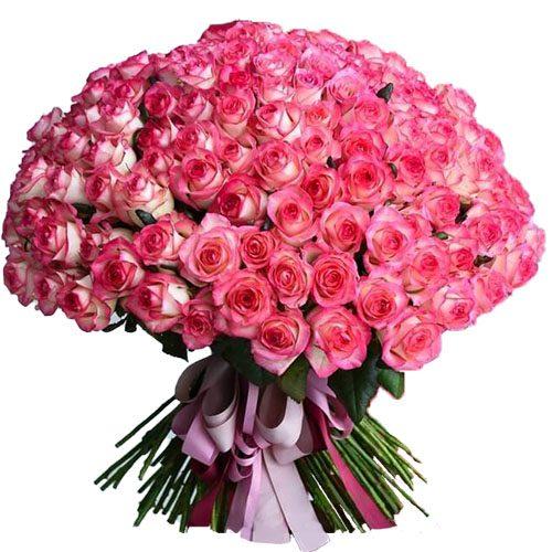"""букет 101 троянда """"Джумілія"""""""