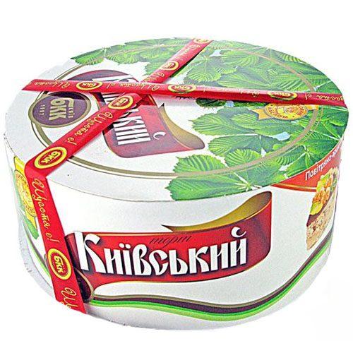Торт Київський на замовлення у Вінниці