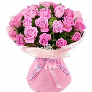 33 троянди Аква фото