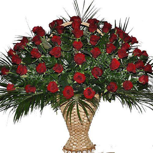 товар Живі похоронні квіти