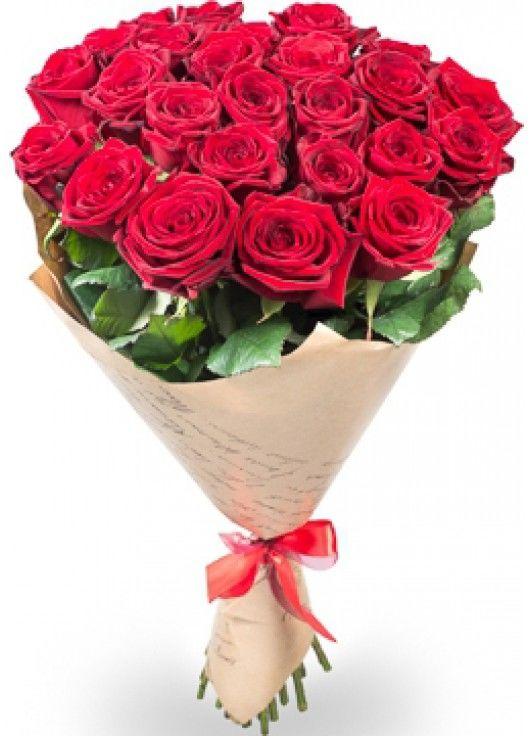 21 червона троянда фото