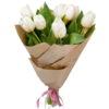фото товару 11 білих тюльпанів