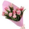 фото товару 11 рожевих тюльпанів