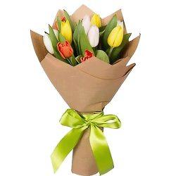 фото товару 11 тюльпанів мікс