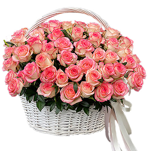 """товар 51 троянда """"Джумілія"""" в кошику"""