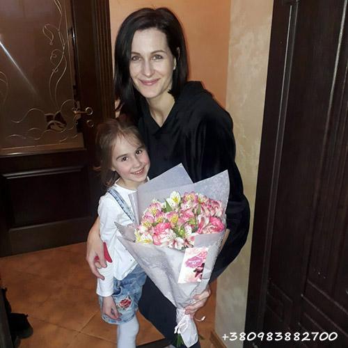 фото доставки квітів