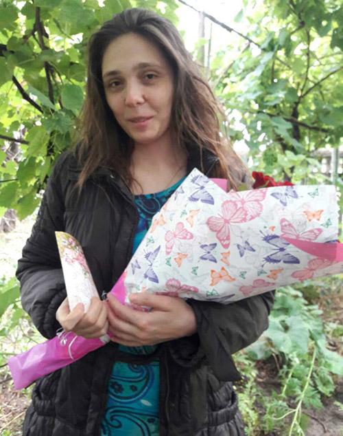 фото доставки квітів у Вінниці